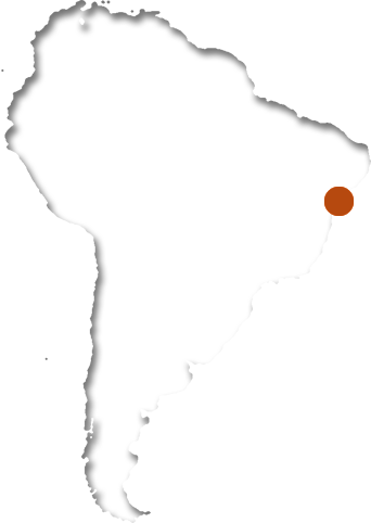 Map of AMAP in Brazil